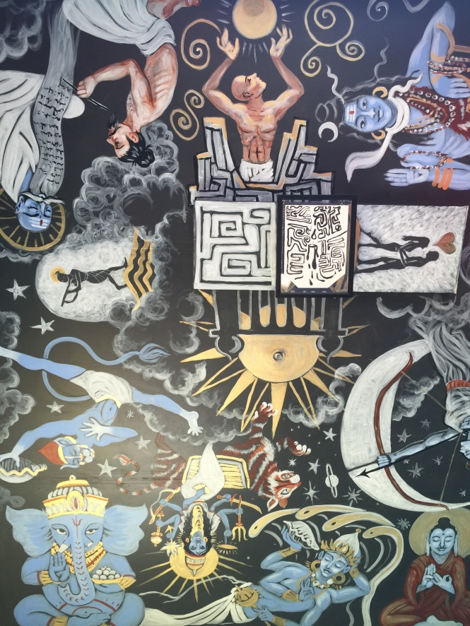 Body Awakening's Mural